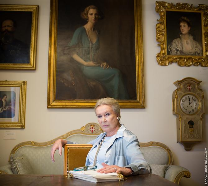 Princess Maria Gabriella of Savoy. Geneva