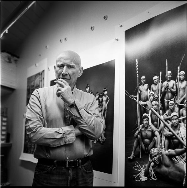 Sebastio Salgado.Photographer. Amazonas studio. Paris 2018