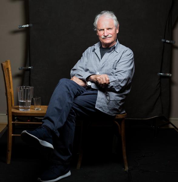 Yann Arthus-Bertrand. Photographer. Hope Production Studio. Paris 2018