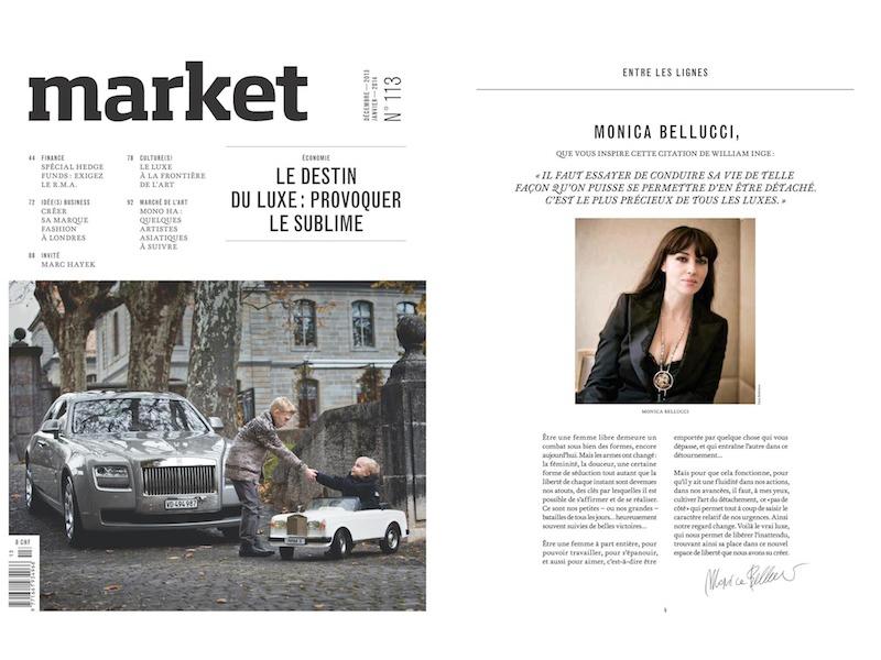 Cover, magazine market № 113, Geneva