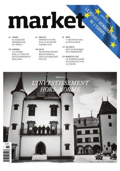 Cover, magazine market № 117, Geneva