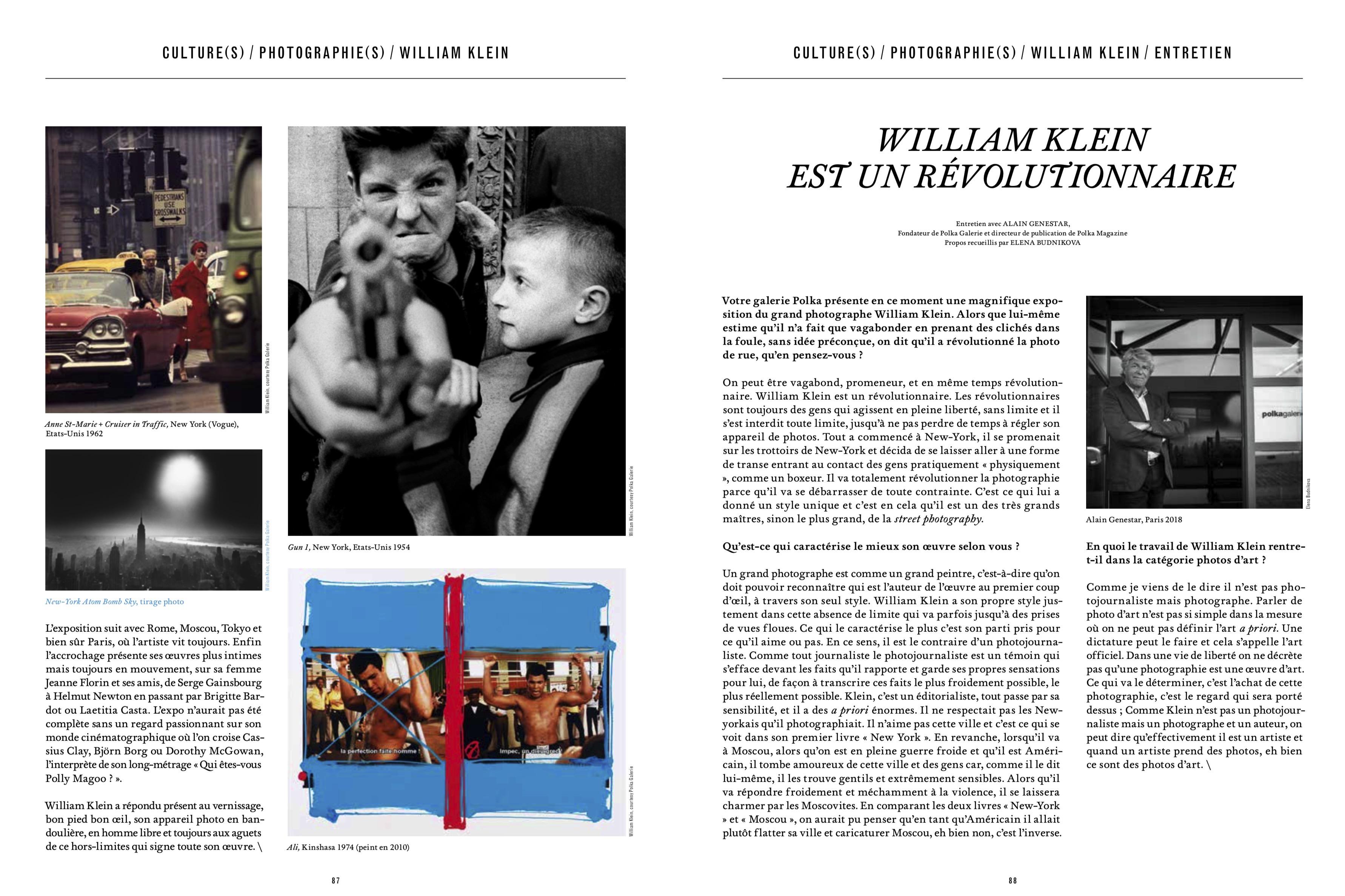 Magazine Market № 142, Geneva.Interview and portrait of Alain Genestar