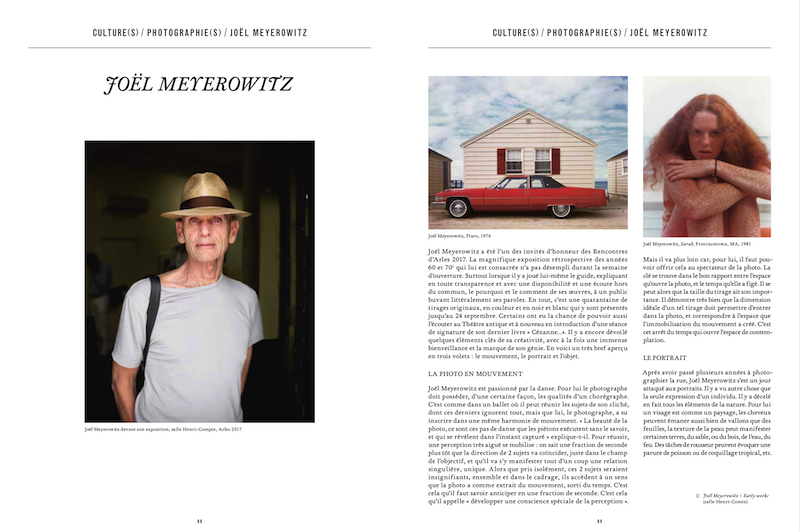 Magazine Market № 137, Geneva. Interview and portrait of Joel Meyerowitz