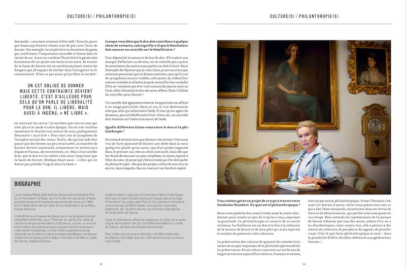 Magazine Market № 119, Geneva. Portrait of Maria Gabriella dE Savoie